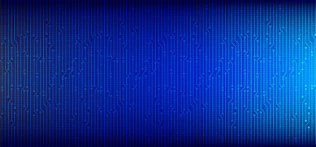 Fundo de sistema de placa de circuito de microchip