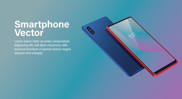 Fundo de smartphone