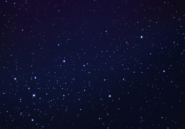Fundo de super velocidade estrelas desfocadas iluminam-se em linhas