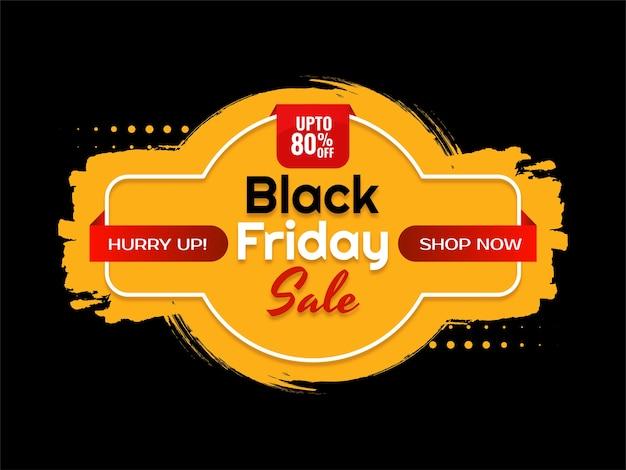 Fundo de super venda black friday moderno