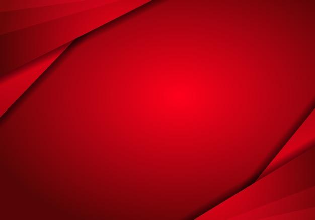 Fundo de tecnologia abstrata de metal vermelho