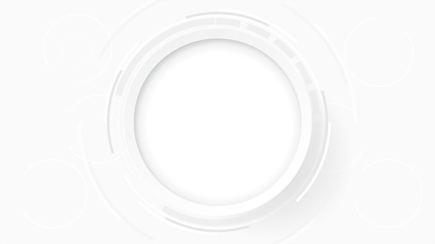 Fundo de tecnologia abstrato cinza branco, conexão digital de alta tecnologia, comunicação, conceito de alta tecnologia, ciência, fundo de tecnologia