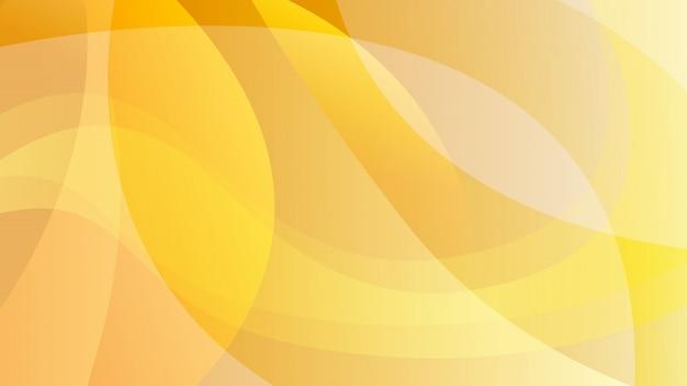 Fundo de tecnologia abstrato cor laranja