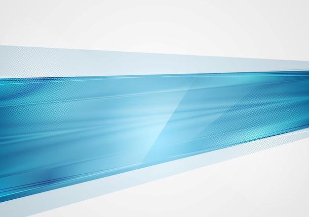 Fundo de tecnologia azul abstrato brilhante. modelo de vetor