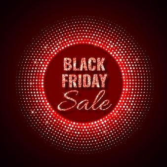 Fundo de tecnologia black friday sale em estilo neon