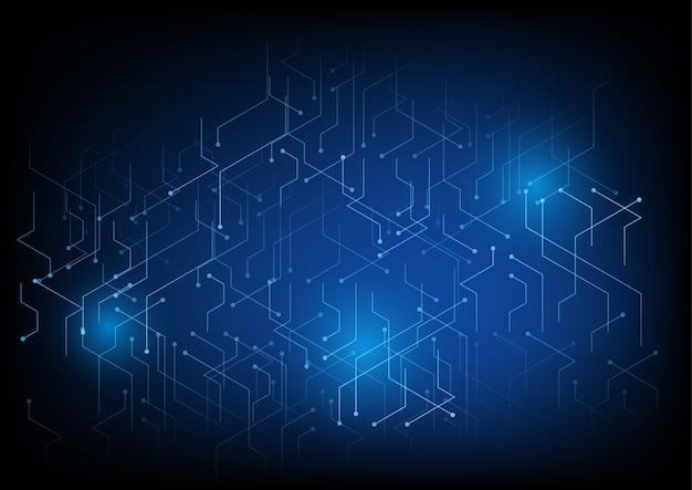 Fundo de tecnologia com linha