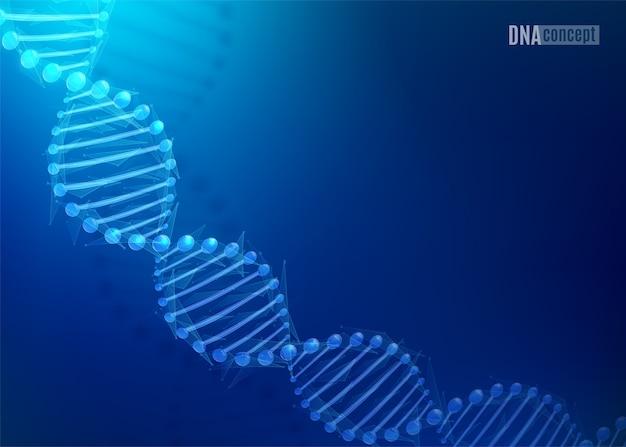 Fundo de tecnologia de ciência de dna