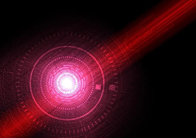 Fundo de tecnologia de circuito com sistema de conexão de dados digital de alta tecnologia
