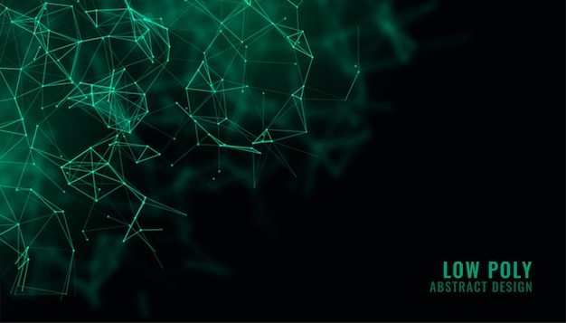 Fundo de tecnologia de fio de rede digital