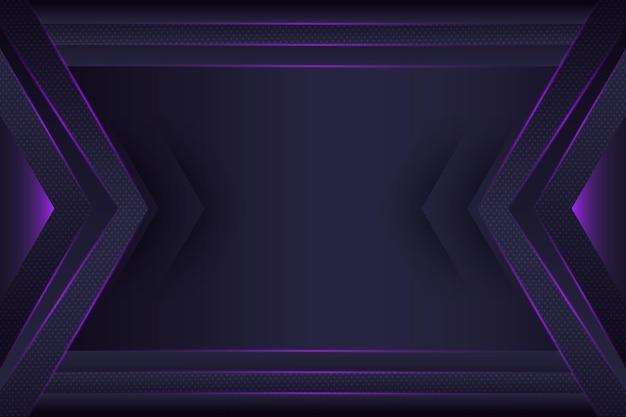 Fundo de tecnologia de gradiente geométrico