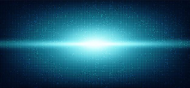 Fundo de tecnologia de luz