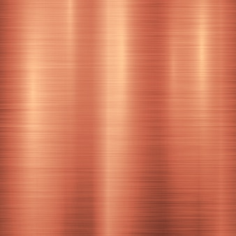 Fundo de tecnologia de metal bronze