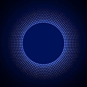 Fundo de tecnologia em estilo neon