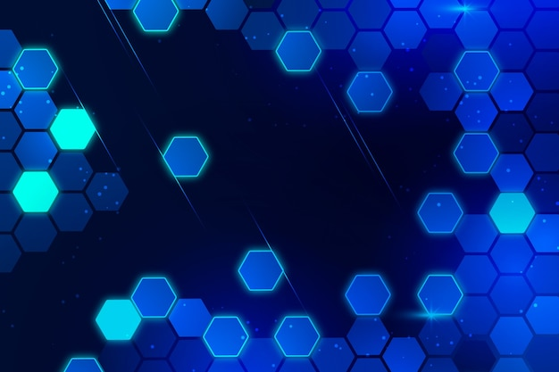 Fundo de tecnologia futurista