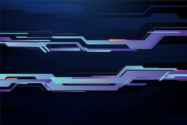 Fundo de tecnologia gradiente