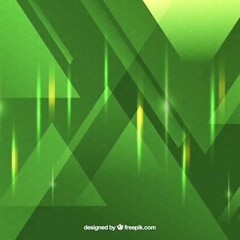 Fundo de tecnologia na cor verde