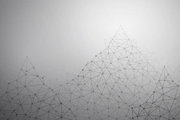 Fundo de tecnologia vector abstrata