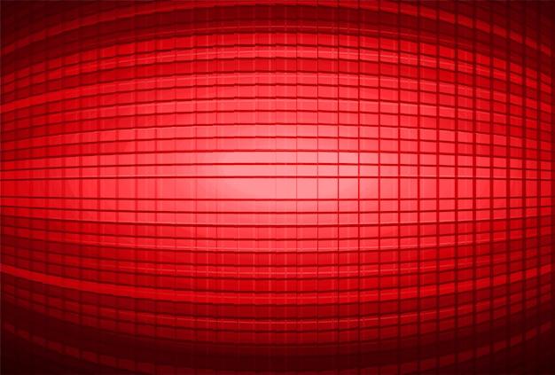 Fundo de tela de cinema vermelho led