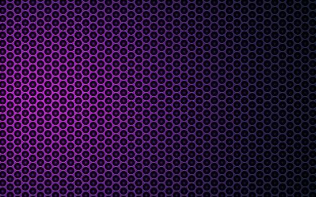 Fundo de textura abstrata hexágono roxo