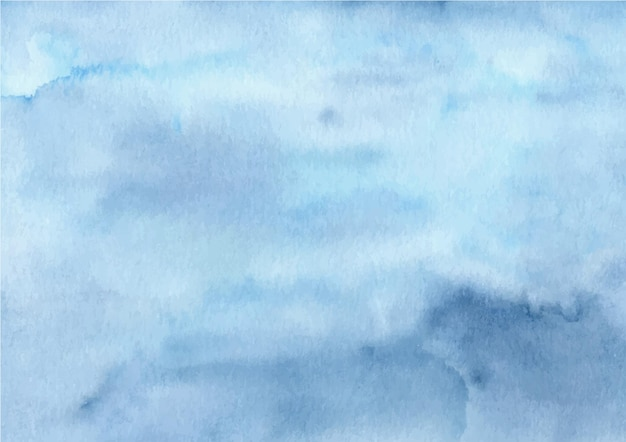 Fundo de textura abstrato azul aquarela