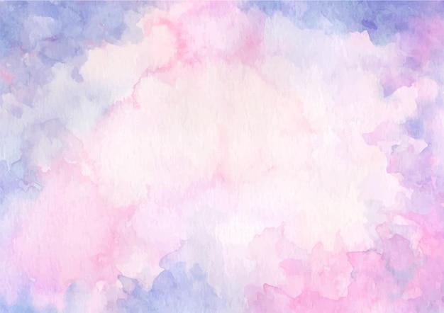 Fundo de textura abstrato pastel rosa roxo com aquarela