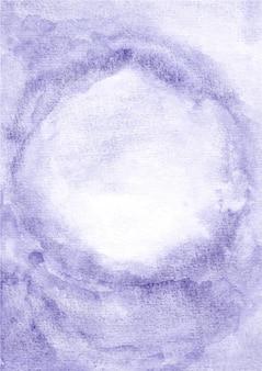 Fundo de textura abstrato roxo com aquarela
