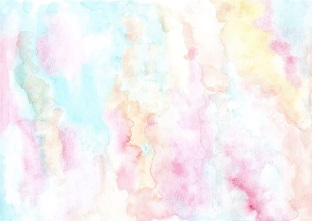 Fundo de textura aquarela abstrata pastel suave