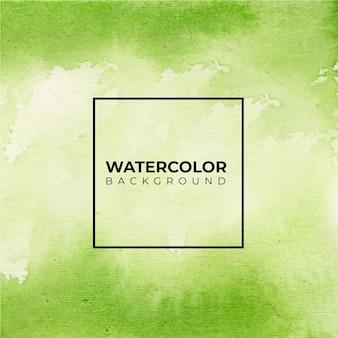 Fundo de textura aquarela abstrata verde e brilhante,