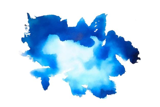 Fundo de textura aquarela azul abstrato