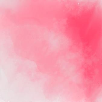 Fundo de textura aquarela elegante rosa abstrata