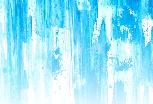 Fundo de textura aquarela macia azul abstrato
