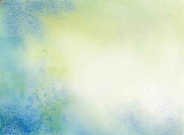 Fundo de textura aquarela natureza abstrata