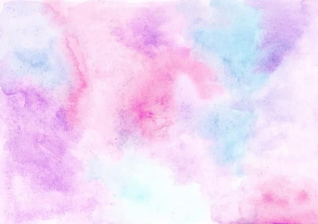 Fundo de textura aquarela pastel abstrata