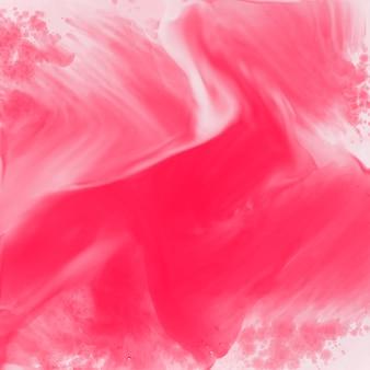 Fundo de textura aquarela rosa abstrata