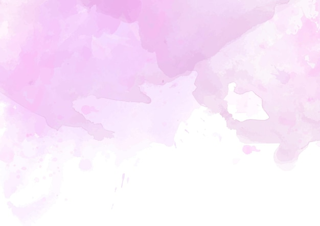 Fundo de textura aquarela rosa com tema feminino
