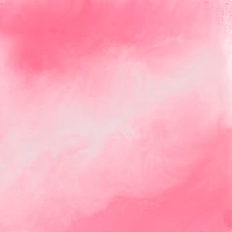 Fundo de textura aquarela rosa elegante