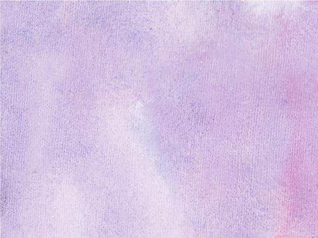 Fundo de textura aquarela roxa abstrata. é uma mão desenhada.