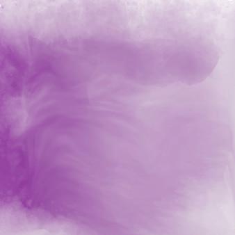 Fundo de textura aquarela roxo suave elegante