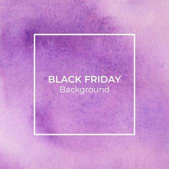 Fundo de textura aquarela violeta blackfriday