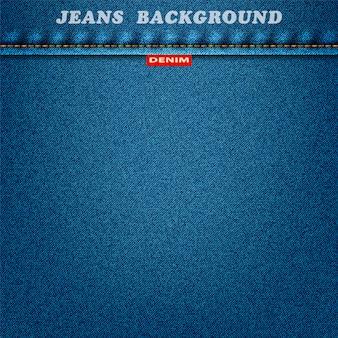 Fundo de textura azul jeans