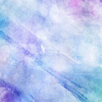 Fundo de textura com design pastel de aquarela