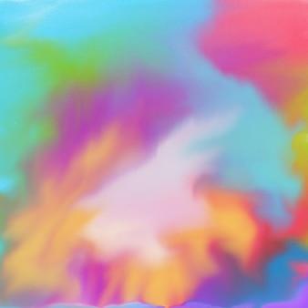 Fundo de textura de acuarela multicolorida