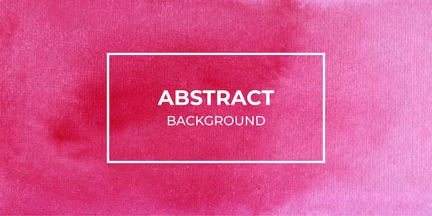 Fundo de textura de banner web aquarela vermelha