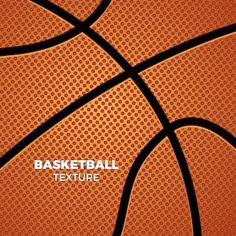 Fundo de textura de basquete