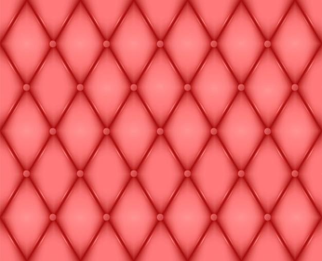 Fundo de textura de couro vermelho luxuoso
