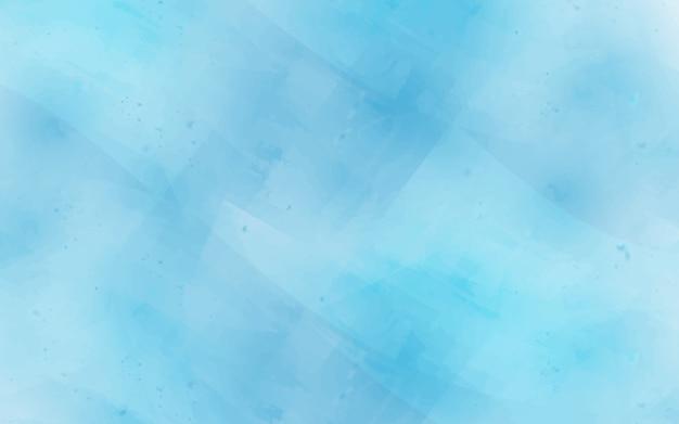 Fundo de textura de desenho aquarela abstrato em cores azuis