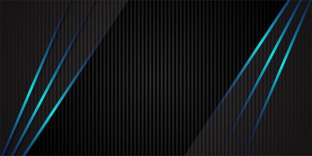 Fundo de textura de fibra de carbono de cor escura