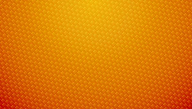 Fundo de textura de fibra de carbono laranja