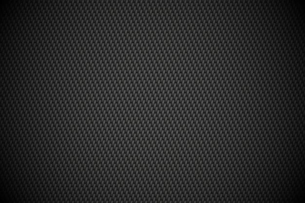 Fundo de textura de fibra de negro de carbono. fundo abstrato