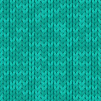 Fundo de textura de lã turquesa